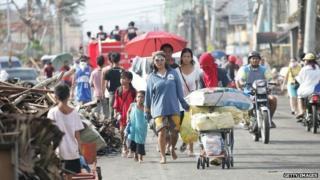 typhoon survivors