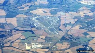 RAF Upper Heyford from the air