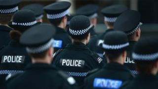 generic police scotland officers