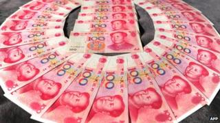 File photo: Chinese yuan banknotes