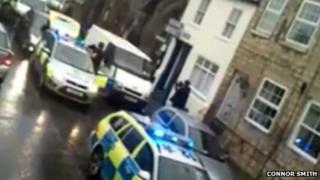 Incident in Knaresborough