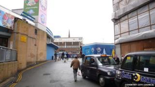 Queen Victoria Road at present