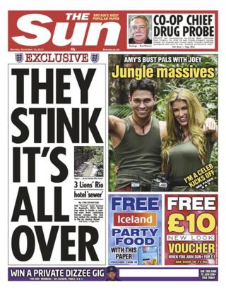 Sun front page 18/11/13