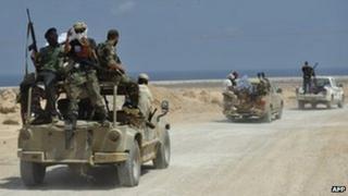 Militiamen from Zintan (2 September 2011)