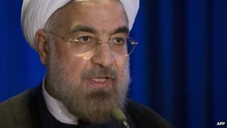 Hassan Rouhani (file)