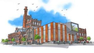 Cains Brewery Village plan
