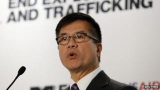 File photo: US Ambassador to China Gary Locke