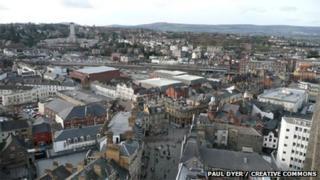 Casnewydd - Llun: Paul Dyer / Creative Commons