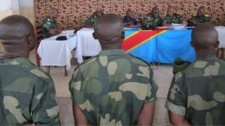 Soldiers on trial in Goma, DR Congo - 20 November 2013