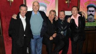 Monty Python castmates gather at a 2009 reunion in New York