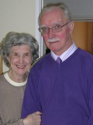 Joyce and Denis Drew
