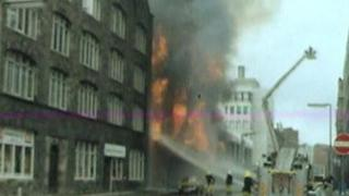 Belfast city centre was bombed many times during the Troubles