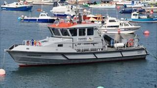 Sea Fisheries patrol boat the Leopardess