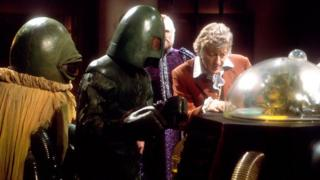 Jon Pertwee in The Curse of Peladon