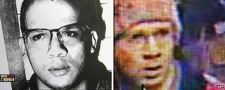 Abdelhakim Dekhar (left) in 1994 and today