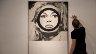 Gerald Laing's Brigitte Bardot painting
