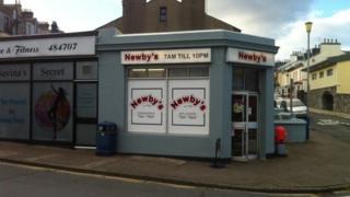 Newby's shop, Douglas