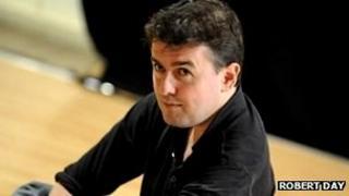 Paul Miller in rehearsal