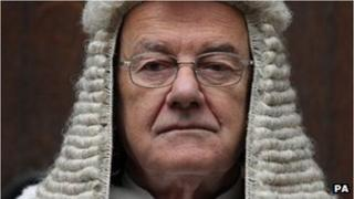 Former Lord Chief Justice Lord Judge