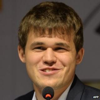 Magnus Carlsen. Photo: 22 November 2013