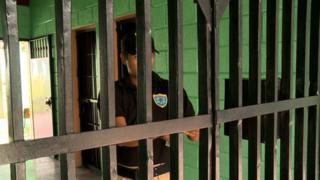 The Renaciendo juvenile detention centre outside Tegucigalpa.
