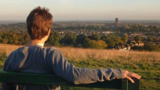 View over Guildford