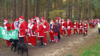 Bracknell Santa dash