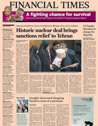 Financial Times 25/11/13