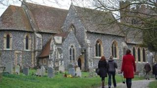 Kate Middleton tour: St Andrew's Church