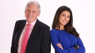 Harry Gration and Amy Garcia