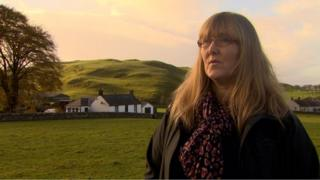 About 100 bodies were found on the land at Lesley Smith's Tundergarth farm