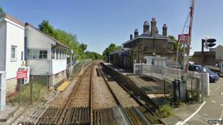 Saxmundham railway station