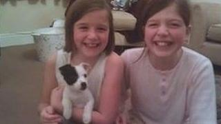 Jack Russell, named Buddy, and his family