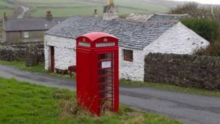 Red phone box courtesy of Manx National Heritage