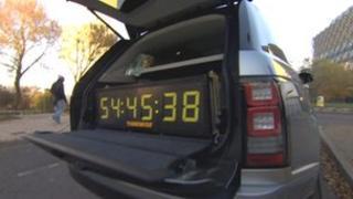 Lottery clock