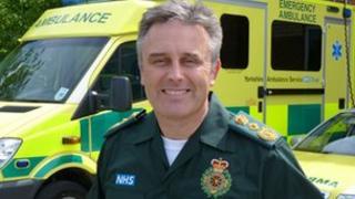 David Whiting, YAS chief executive
