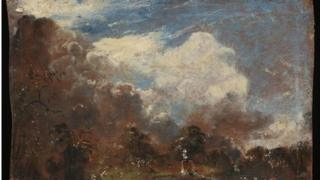 Previously unknown oil sketch by John Constable
