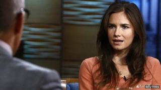 Amanda Knox on NBC. Sept 2013