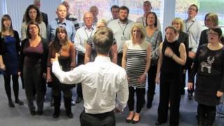 Halle corporate choir