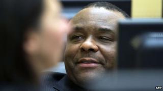 John-Pierre Bemba in court on 27 November 2013