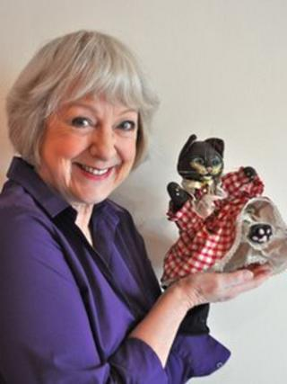 Prudence Kitten with Susie Blake