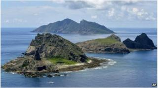 Senkaku/Diaoyu islands (file image)