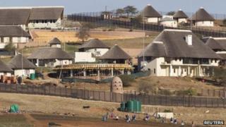 Jacob Zuma's Nkandla residence
