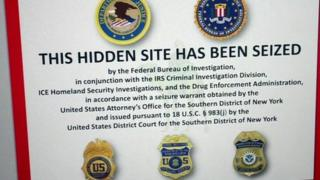 FBI notice on website