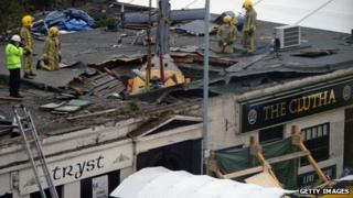 Clutha crash scene