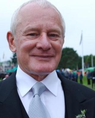 Allan Bell at Tynwald Day 2012