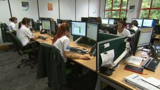 Devon's NHS 111 call centre