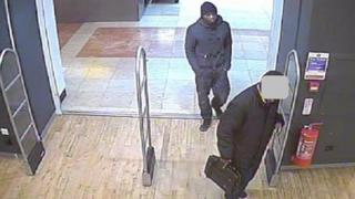 CCTV footage of Michael Adebolajo entering shop to buy knives