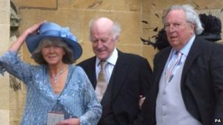 Jilly Cooper with husband Leo