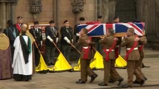 Ian Fisher funeral